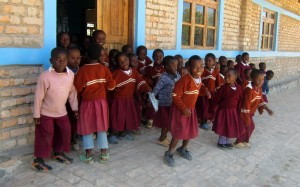 Tanzania local school kids