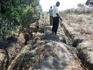 Water Pipes to Kibena