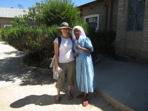 Deanna Zanetti and Tanzania Sister